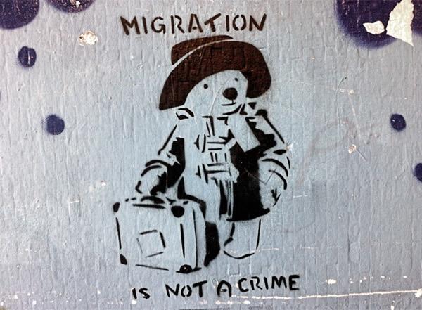 la migration est une réalité, pas un crime