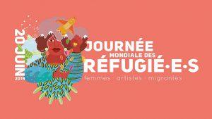 bandeau journée mondiale des refugié·e·s 2019