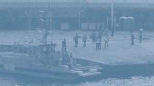 """couverture de l'analyse """"L'externalisation des politiques européennes en matière de migration"""""""